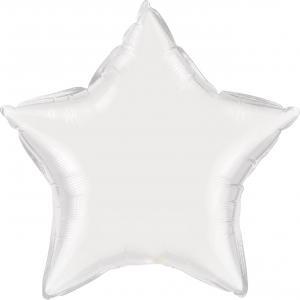"20"" (51 cm) Stjärna Vit"