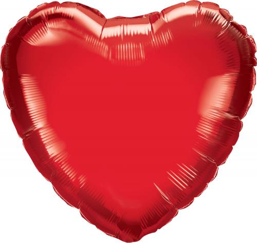 "36"" (90 cm) Hjärta Röd"