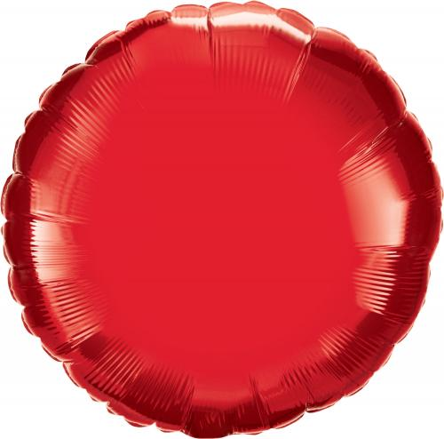 """36"""" (90 cm) Rund Röd"""