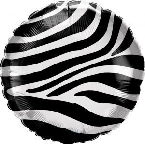 """18"""" (46 cm) Zebra"""