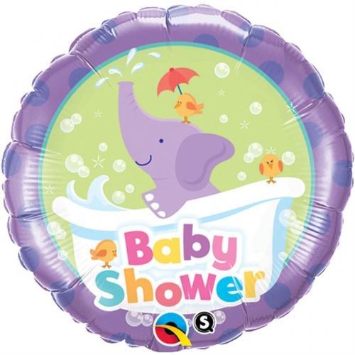 """18"""" (46 cm) Babyshower Elefant"""