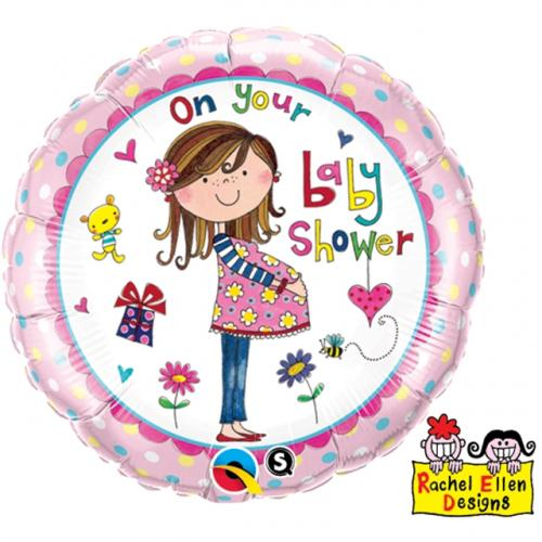 """18"""" (46 cm) On your baby shower"""