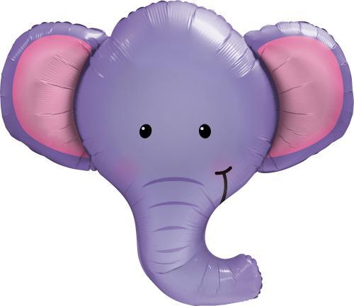 """39"""" (99 cm) Elefanten Ellie"""