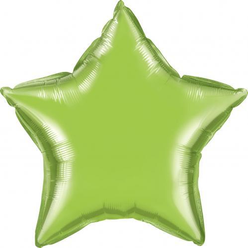 """36"""" (90 cm) Stjärna Limegrön"""