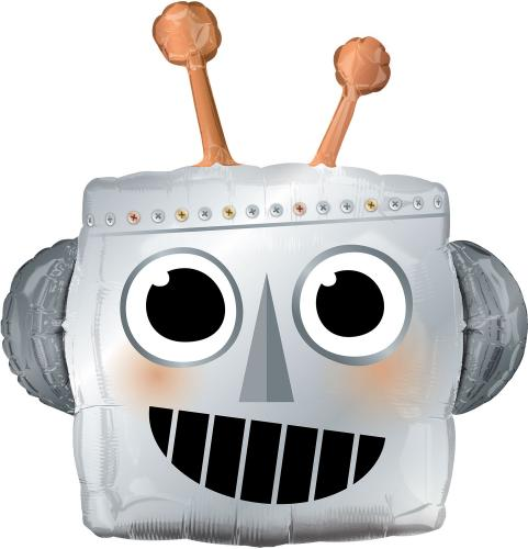 "35"" (89 cm) Robothuvud"