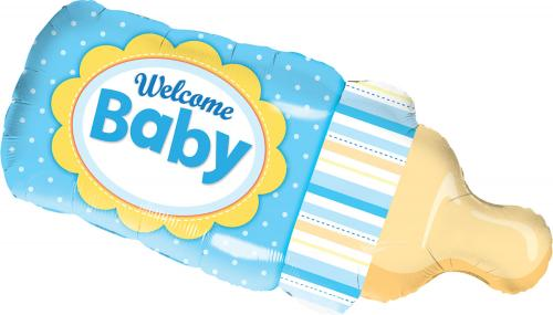 "39"" (99 cm) Welcome Baby Blå"