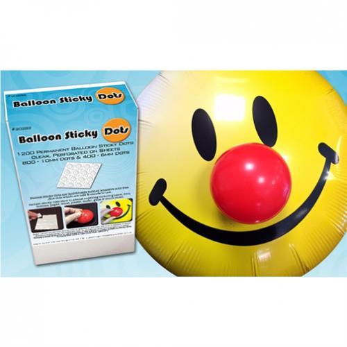 Fästprickar till ballonger