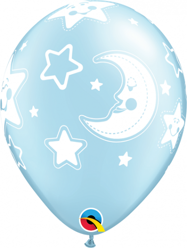 """11"""" (28 cm) Baby Måne och Stjärna"""