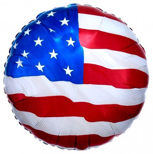 """17"""" (43 cm) USA-flagga"""