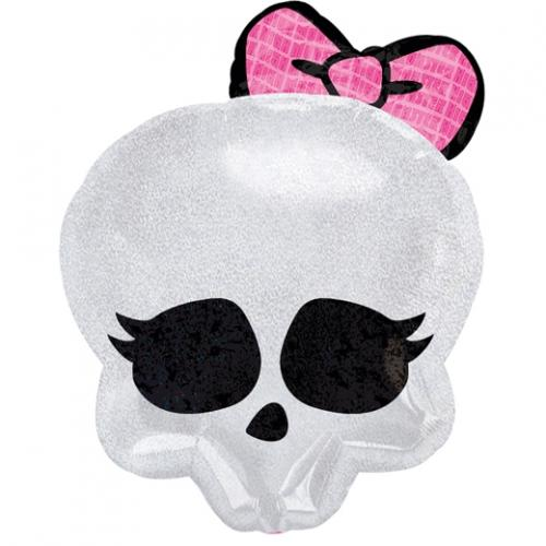 "18"" (46 cm) Monster High Skullette badge"