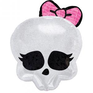 """18"""" (46 cm) Monster High Skullette badge"""