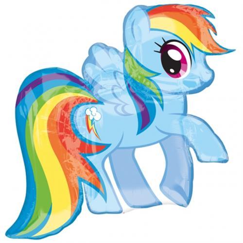 "27"" (68 cm) My Little Pony Rainbow Dash"