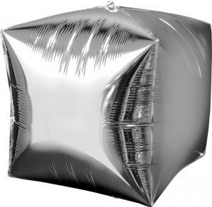 """15"""" (38 cm) Cubez Silver"""