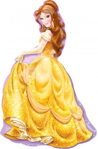 """39"""" (99 cm) Prinsessan Belle - Skönheten och Odjuret"""