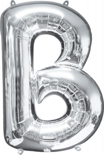 86 cm Bokstäver Silver