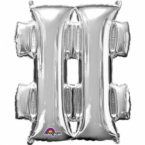 """33"""" (83 cm) # Silver"""