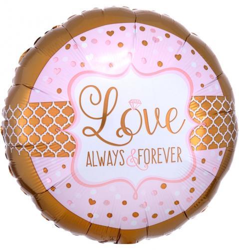 """17"""" (43 cm) Love Always & Forever"""
