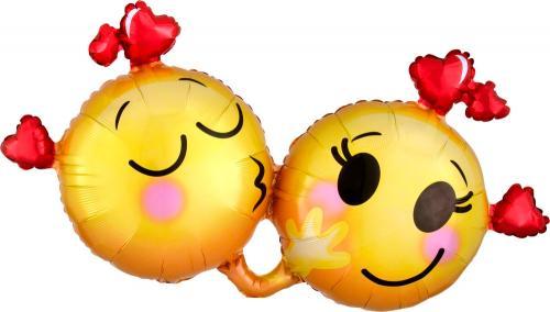 """21"""" (53 cm) Förälskade Emojis"""