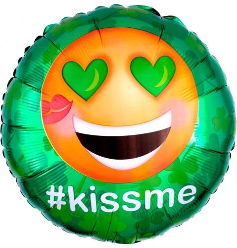 """17"""" (43 cm) St Patrick's #Kissme"""