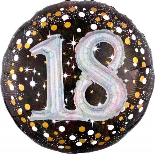 "36"" (90 cm) 18 Sparkling Birthday 3D"