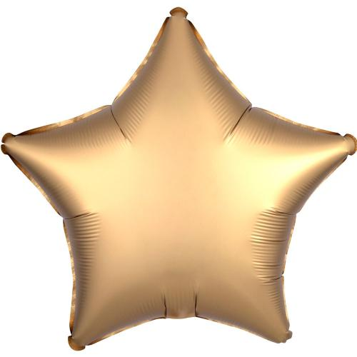 "19"" (48 cm) Stjärna Satin Luxe Guld"