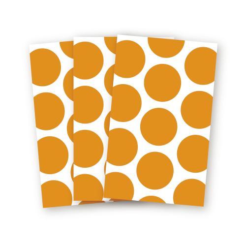 Kalaspåse Orangeprickig
