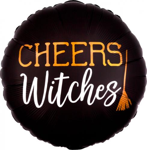 "17"" (43 cm) Satin Cheers Witches"