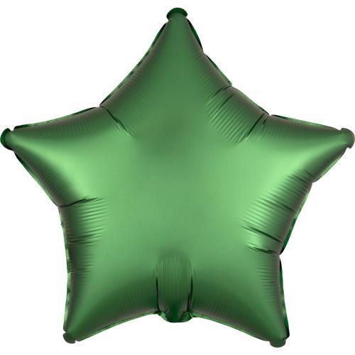 "19"" (48 cm) Stjärna Satin Luxe Emeraldgrön"