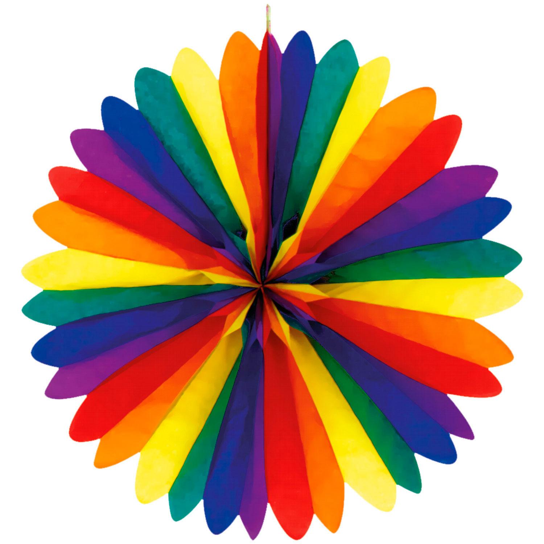 Dekorationsrosett, multifärgad