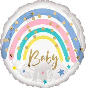 "18"" (46 cm) Regnbåge Baby"