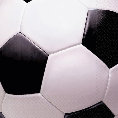 Fotboll Servetter 33 cm x 33 cm