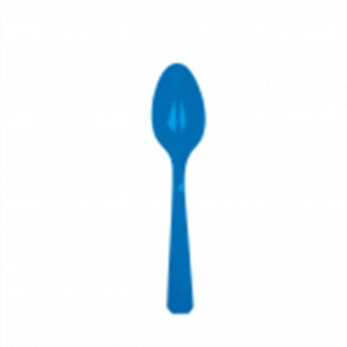 Plastsked, blå
