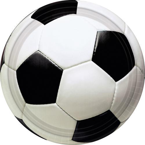 Fotboll Tallrik 23 cm