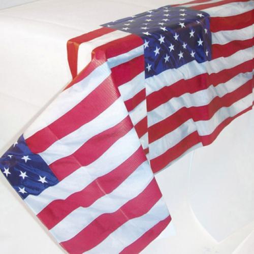 Bordsduk i papper, USA, 135x250 cm