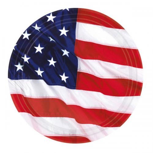Papperstallrik, USA 27 cm