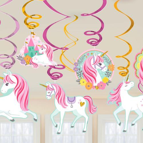 Swirls Magical Unicorn