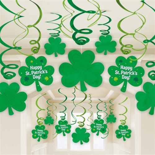 Swirls St Patricks Day