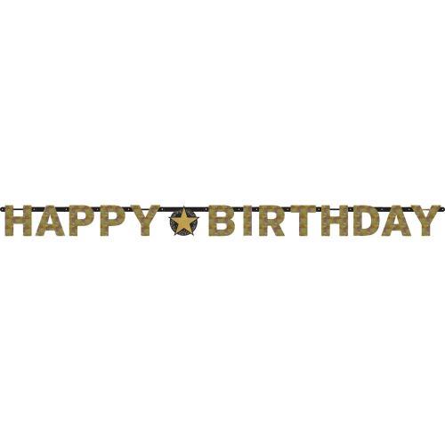 Sparkling Birthday Happy Birthday Banner