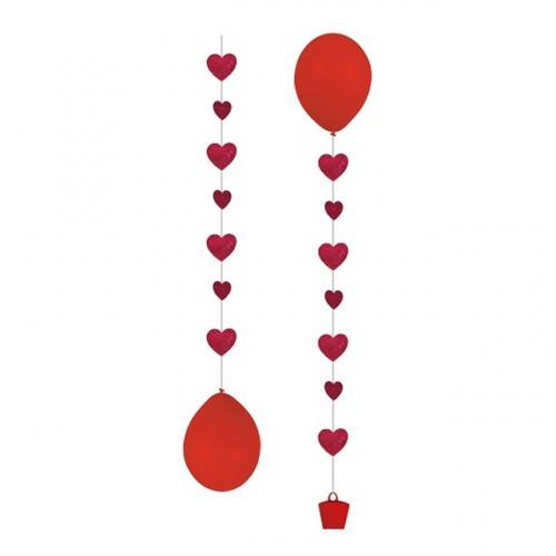 Balloon Tail Hjärtan