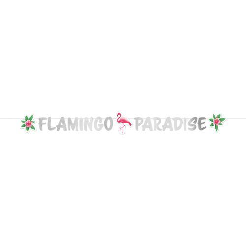 Flamingo Paradise Banner