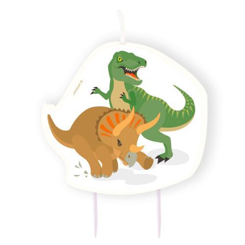 Tårtljus Happy Dinosaur