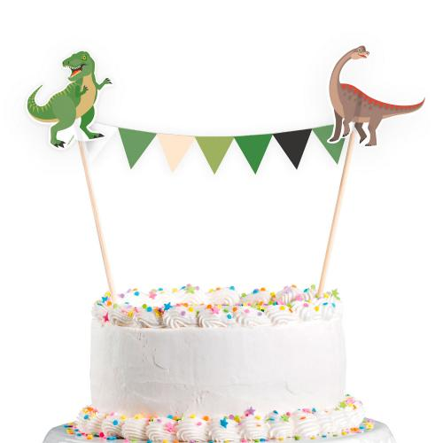 Tårtdekoration Happy Dinosaur