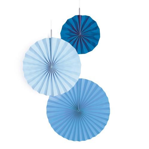 Dekorationsrosetter Skye Blue