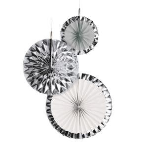 Dekorationsrosetter Silver Dream