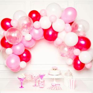 DIY Ballonggirlang Rosa