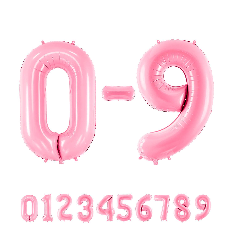 """34"""" (86 cm) Siffror Rosa"""