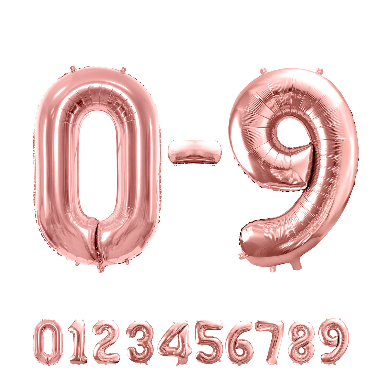"34"" (86 cm) Siffror Rosé"