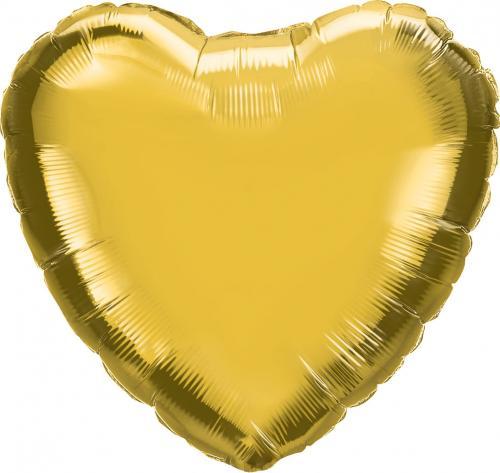 "18"" (46 cm) Hjärta Guld"