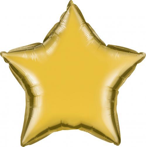 """20"""" (51 cm) Stjärna Guld"""