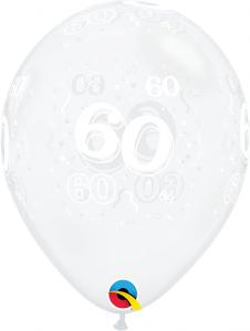 """11"""" (28 cm) 60 Årsballong"""